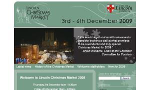 Lincoln Christmas Market Website