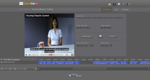 The CaptionTube interface