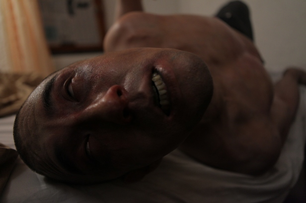 A scene film AFFLICTED, an eOne Films release. Photo Credit: Norm Li.